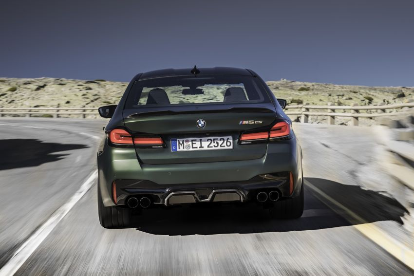 BMW M5 CS – 635 hp/750 Nm, 0-100 km/h in three seconds; more carbon, less weight, four bucket seats Image #1259089