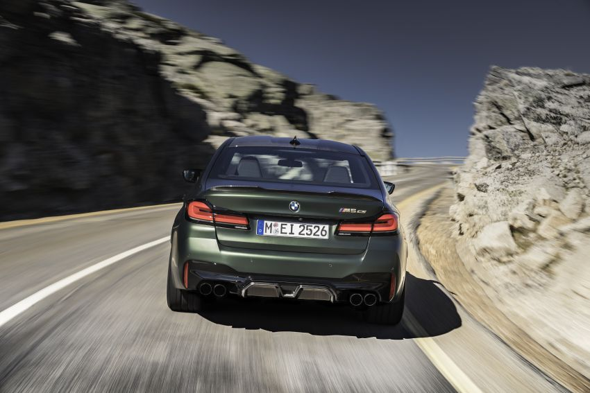 BMW M5 CS – 635 hp/750 Nm, 0-100 km/h in three seconds; more carbon, less weight, four bucket seats Image #1259090