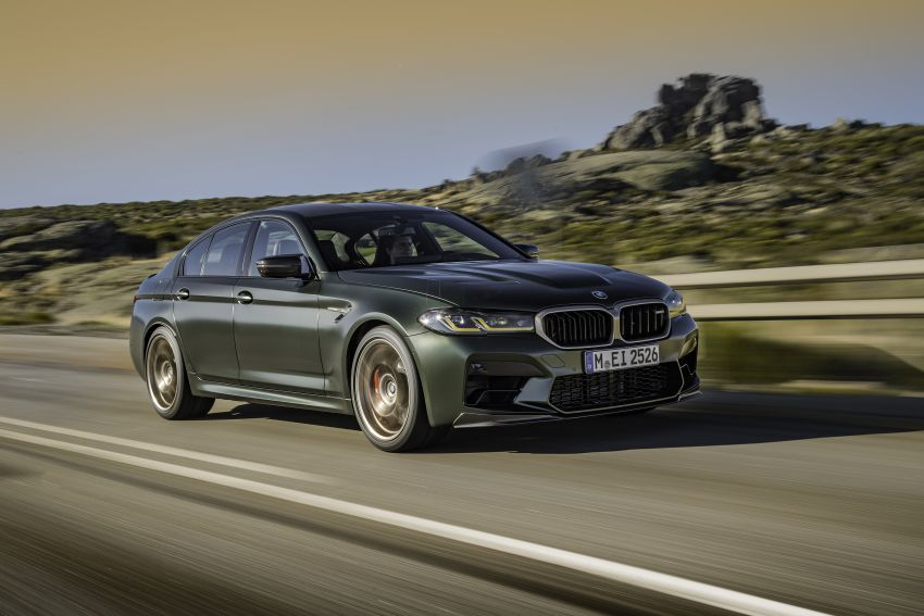BMW M5 CS – 635 hp/750 Nm, 0-100 km/h in three seconds; more carbon, less weight, four bucket seats Image #1259091