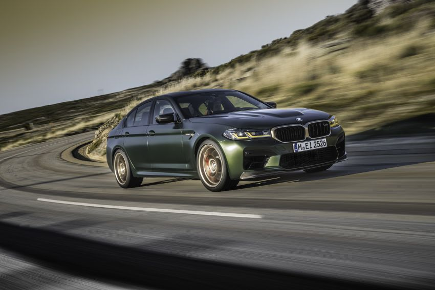 BMW M5 CS – 635 hp/750 Nm, 0-100 km/h in three seconds; more carbon, less weight, four bucket seats Image #1259092