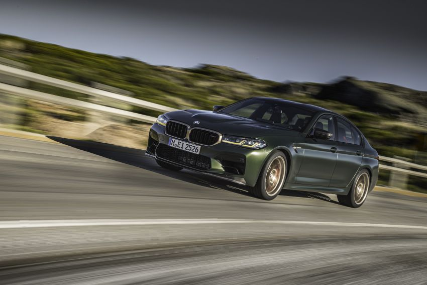 BMW M5 CS – 635 hp/750 Nm, 0-100 km/h in three seconds; more carbon, less weight, four bucket seats Image #1259093