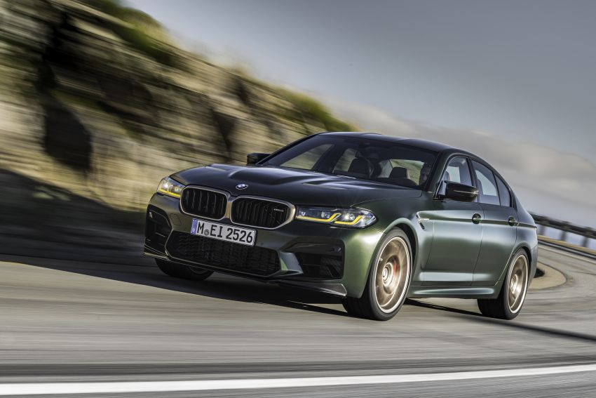 BMW M5 CS – 635 hp/750 Nm, 0-100 km/h in three seconds; more carbon, less weight, four bucket seats Image #1259094
