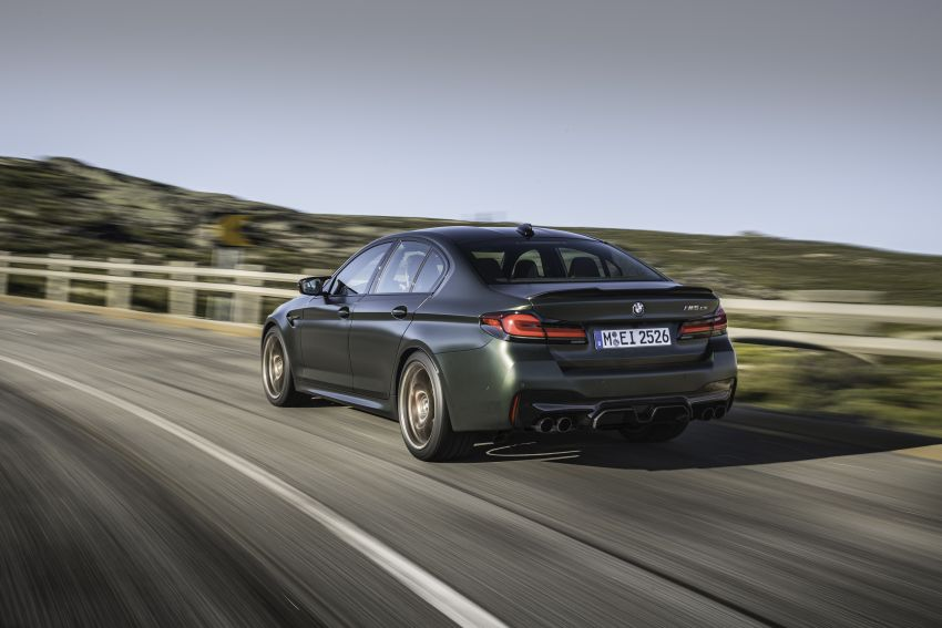 BMW M5 CS – 635 hp/750 Nm, 0-100 km/h in three seconds; more carbon, less weight, four bucket seats Image #1259095