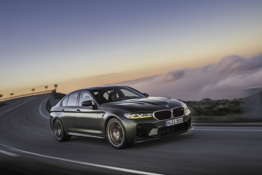BMW M5 CS – 635 hp/750 Nm, 0-100 km/h in three seconds; more carbon, less weight, four bucket seats Image #1259096