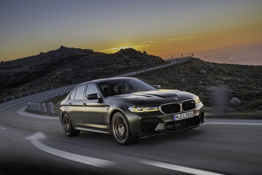 BMW M5 CS – 635 hp/750 Nm, 0-100 km/h in three seconds; more carbon, less weight, four bucket seats Image #1259098