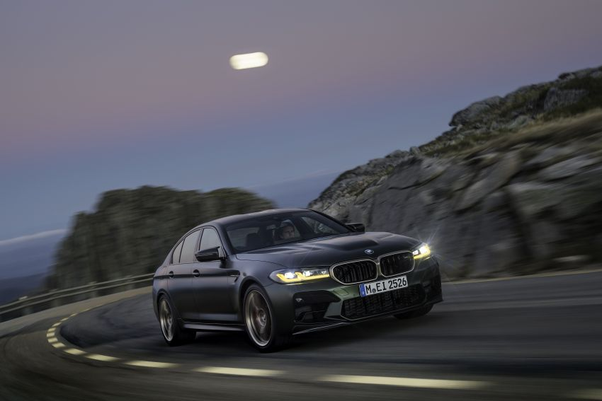 BMW M5 CS – 635 hp/750 Nm, 0-100 km/h in three seconds; more carbon, less weight, four bucket seats Image #1259101