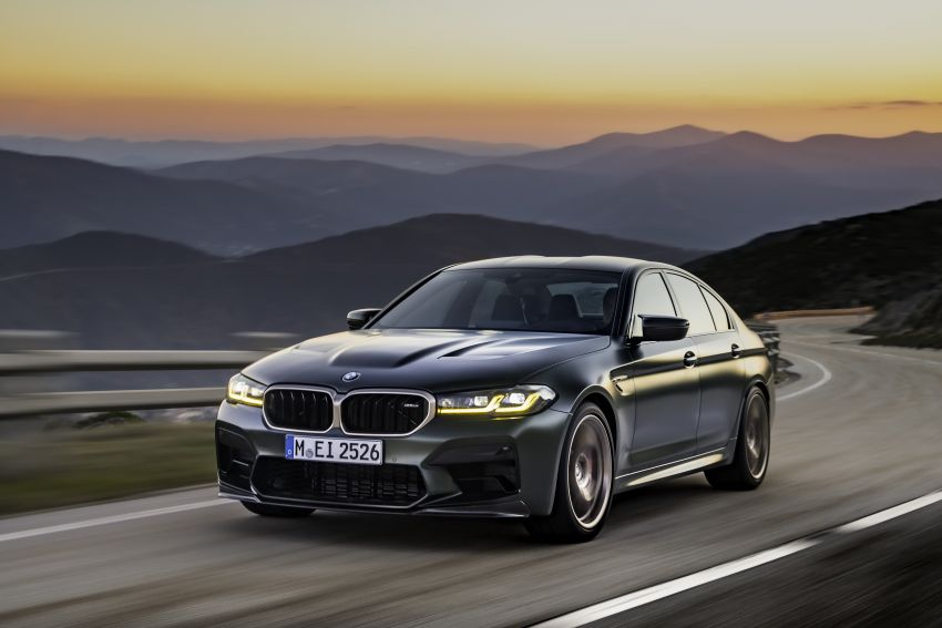 BMW M5 CS – 635 hp/750 Nm, 0-100 km/h in three seconds; more carbon, less weight, four bucket seats Image #1259102