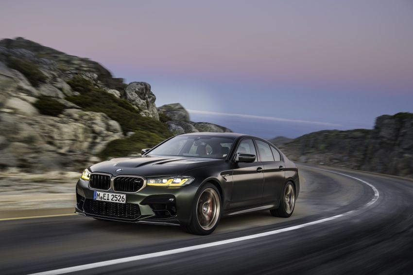 BMW M5 CS – 635 hp/750 Nm, 0-100 km/h in three seconds; more carbon, less weight, four bucket seats Image #1259103