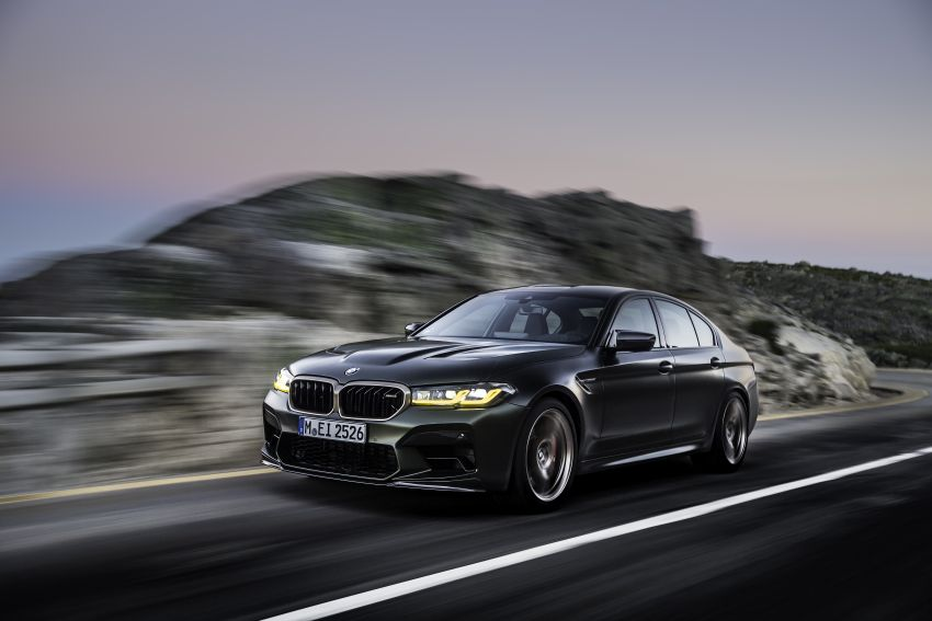 BMW M5 CS – 635 hp/750 Nm, 0-100 km/h in three seconds; more carbon, less weight, four bucket seats Image #1259104