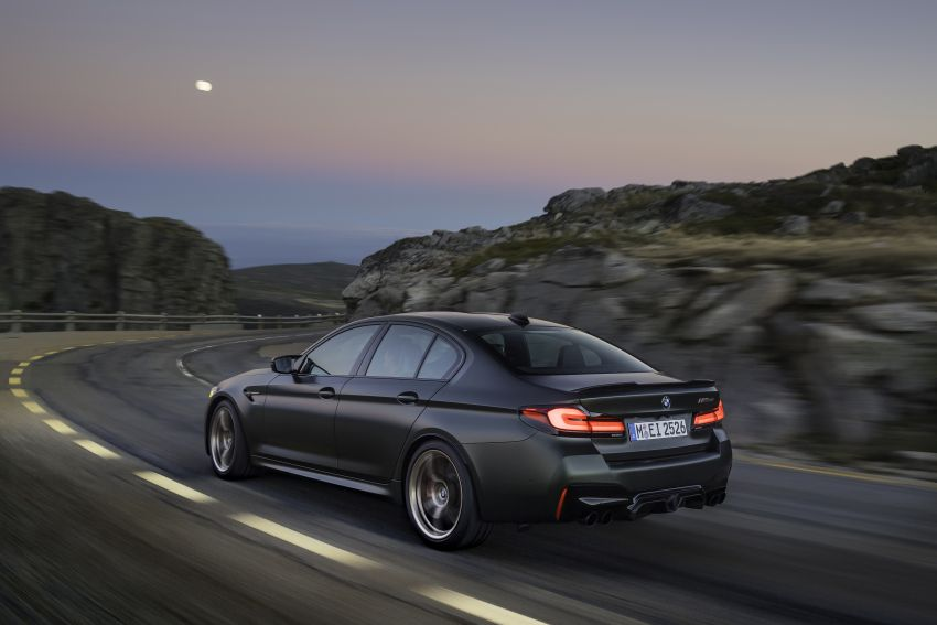 BMW M5 CS – 635 hp/750 Nm, 0-100 km/h in three seconds; more carbon, less weight, four bucket seats Image #1259105