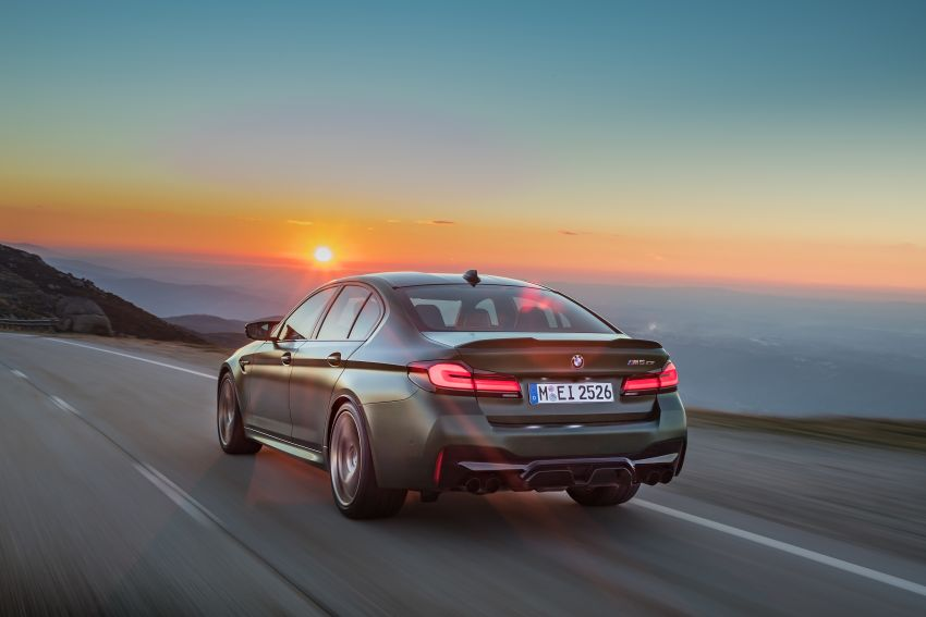 BMW M5 CS – 635 hp/750 Nm, 0-100 km/h in three seconds; more carbon, less weight, four bucket seats Image #1259106