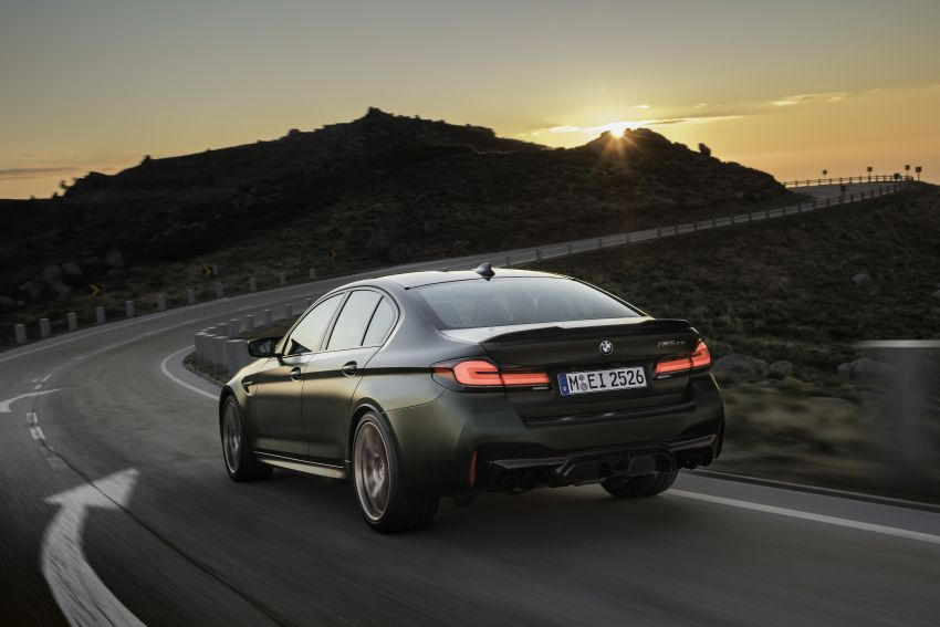 BMW M5 CS – 635 hp/750 Nm, 0-100 km/h in three seconds; more carbon, less weight, four bucket seats Image #1259108