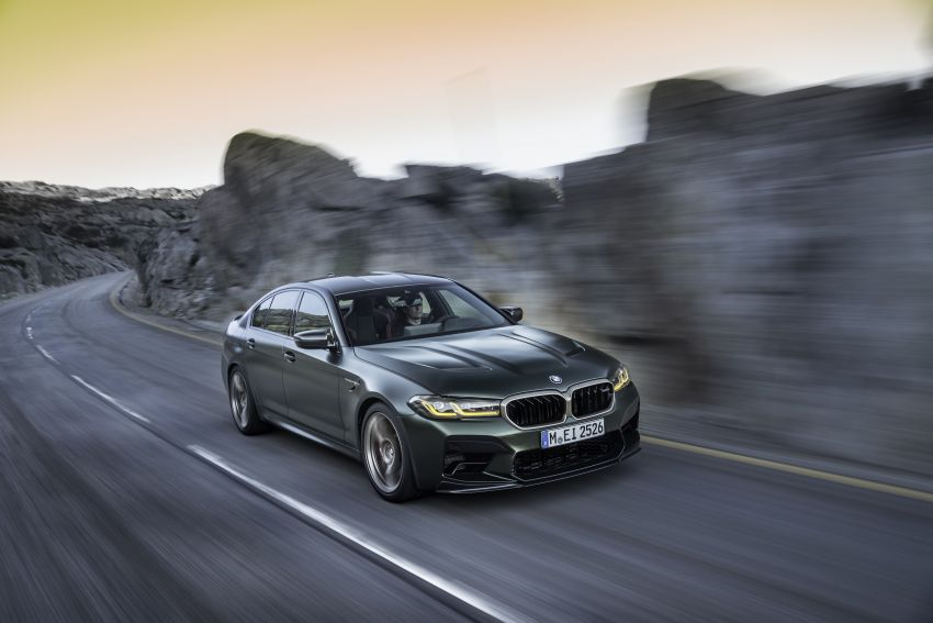BMW M5 CS – 635 hp/750 Nm, 0-100 km/h in three seconds; more carbon, less weight, four bucket seats Image #1259109