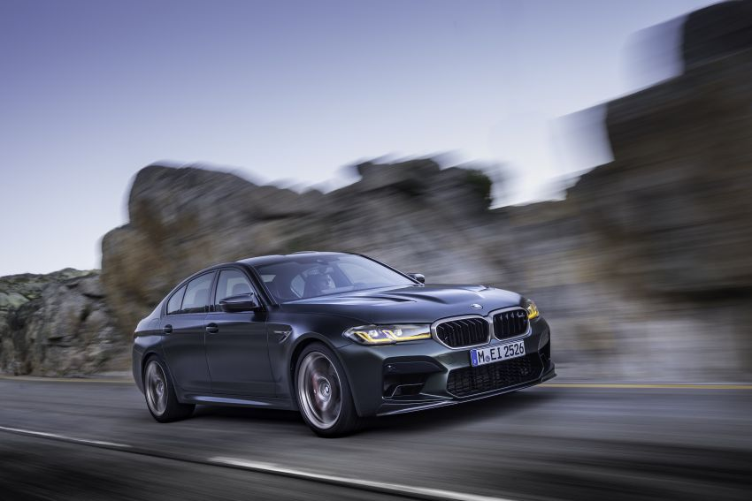 BMW M5 CS – 635 hp/750 Nm, 0-100 km/h in three seconds; more carbon, less weight, four bucket seats Image #1259110
