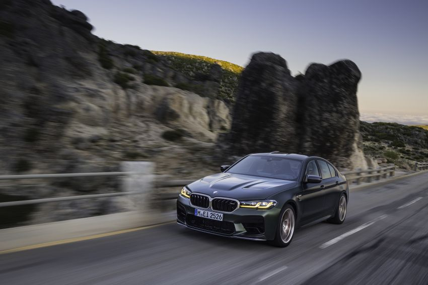 BMW M5 CS – 635 hp/750 Nm, 0-100 km/h in three seconds; more carbon, less weight, four bucket seats Image #1259111
