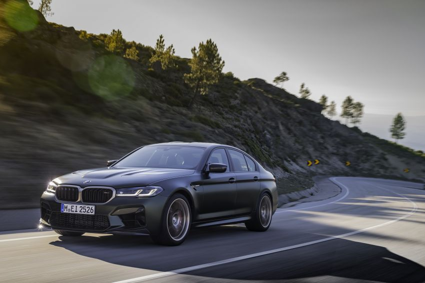 BMW M5 CS – 635 hp/750 Nm, 0-100 km/h in three seconds; more carbon, less weight, four bucket seats Image #1259114