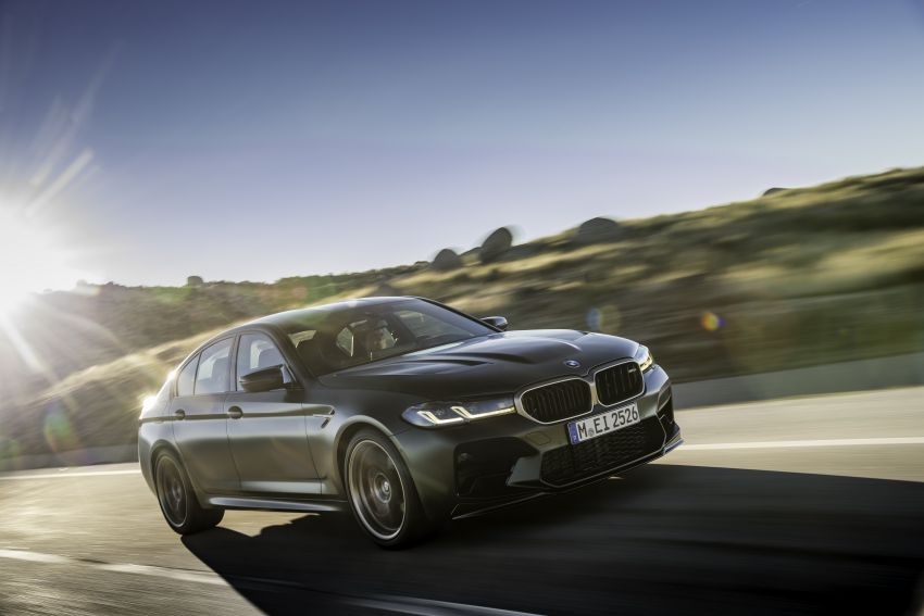 BMW M5 CS – 635 hp/750 Nm, 0-100 km/h in three seconds; more carbon, less weight, four bucket seats Image #1259115