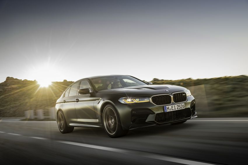 BMW M5 CS – 635 hp/750 Nm, 0-100 km/h in three seconds; more carbon, less weight, four bucket seats Image #1259118