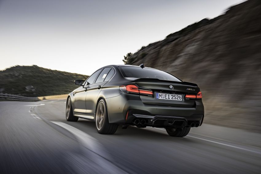 BMW M5 CS – 635 hp/750 Nm, 0-100 km/h in three seconds; more carbon, less weight, four bucket seats Image #1259119