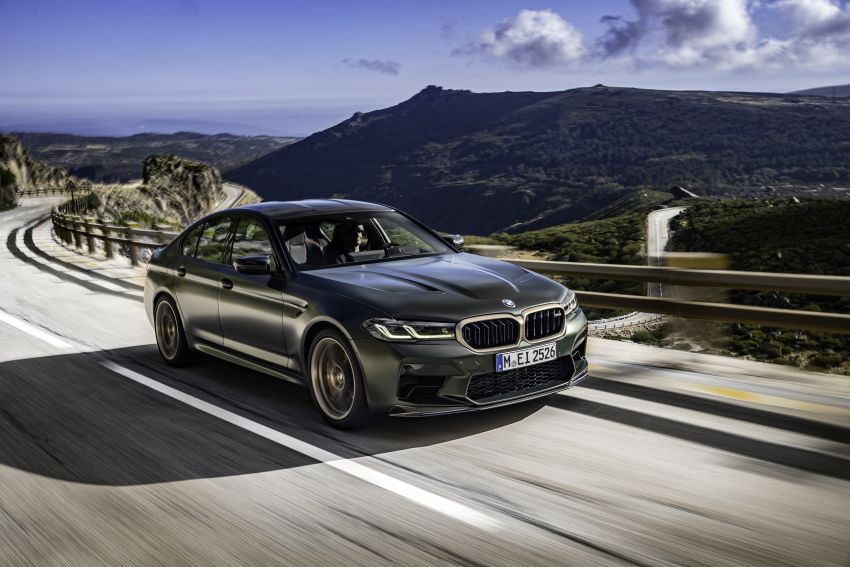 BMW M5 CS – 635 hp/750 Nm, 0-100 km/h in three seconds; more carbon, less weight, four bucket seats Image #1259121