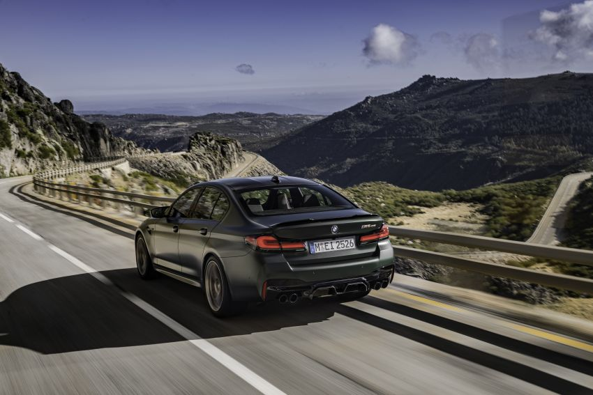 BMW M5 CS – 635 hp/750 Nm, 0-100 km/h in three seconds; more carbon, less weight, four bucket seats Image #1259122