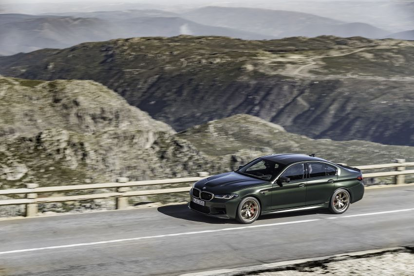 BMW M5 CS – 635 hp/750 Nm, 0-100 km/h in three seconds; more carbon, less weight, four bucket seats Image #1259124