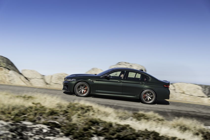 BMW M5 CS – 635 hp/750 Nm, 0-100 km/h in three seconds; more carbon, less weight, four bucket seats Image #1259125