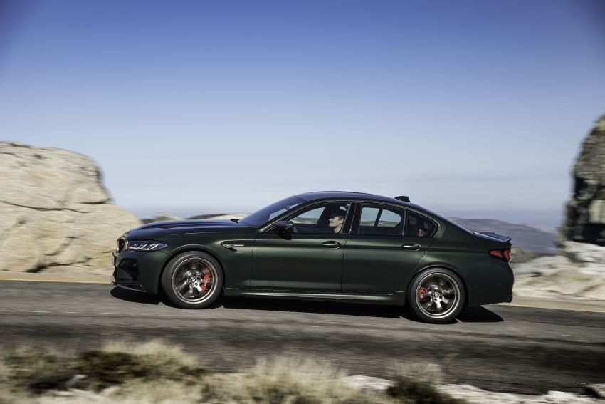 BMW M5 CS – 635 hp/750 Nm, 0-100 km/h in three seconds; more carbon, less weight, four bucket seats Image #1259126