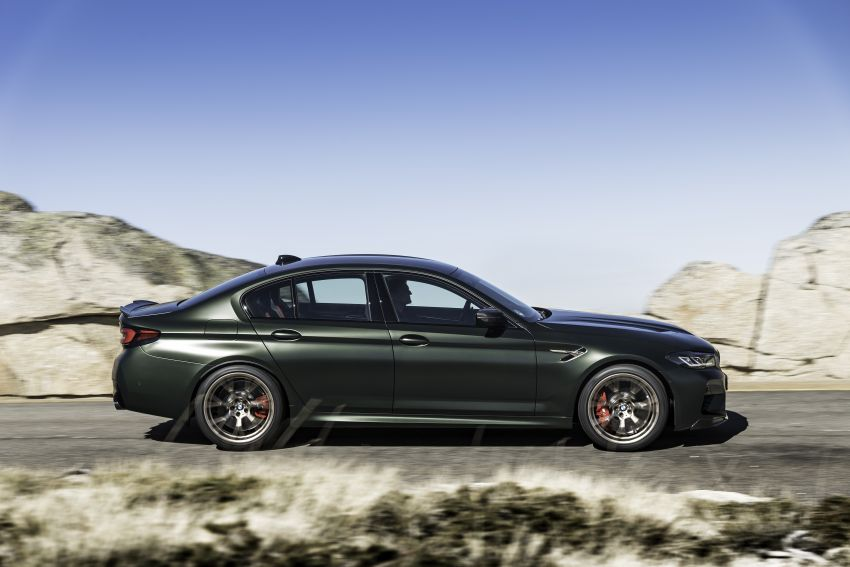 BMW M5 CS – 635 hp/750 Nm, 0-100 km/h in three seconds; more carbon, less weight, four bucket seats Image #1259127