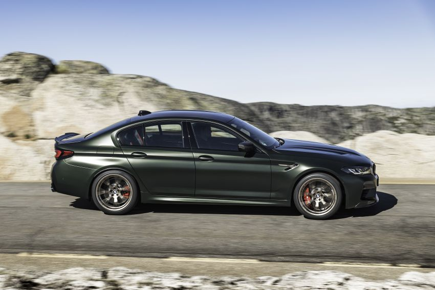 BMW M5 CS – 635 hp/750 Nm, 0-100 km/h in three seconds; more carbon, less weight, four bucket seats Image #1259128