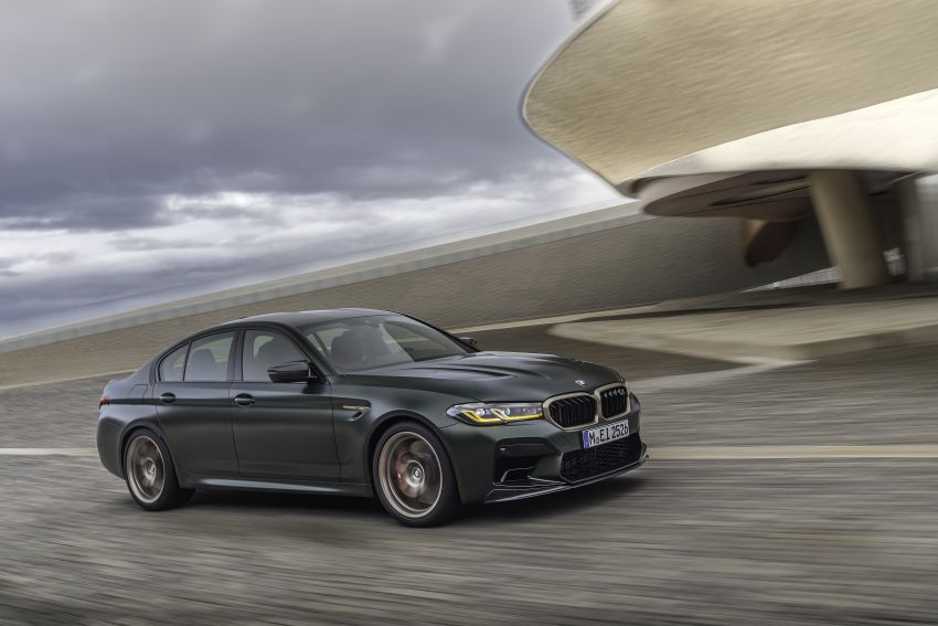 BMW M5 CS – 635 hp/750 Nm, 0-100 km/h in three seconds; more carbon, less weight, four bucket seats Image #1259129