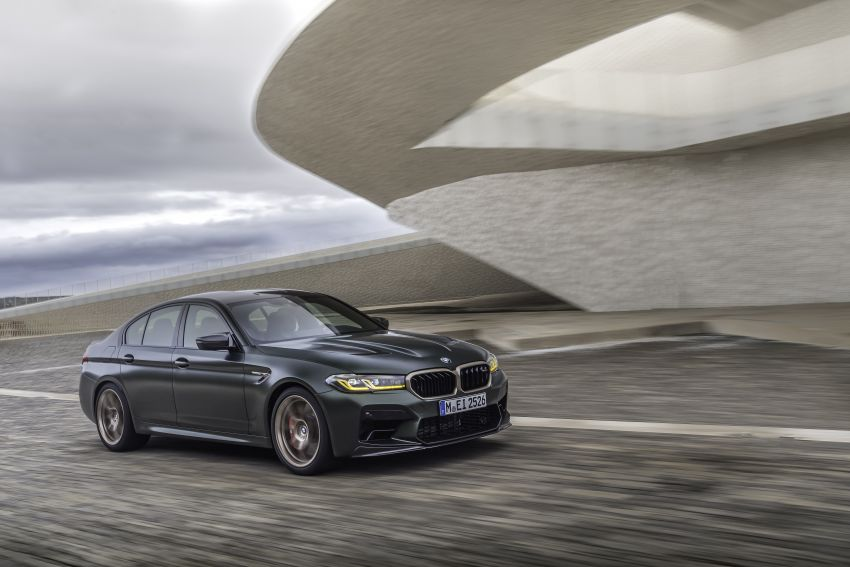 BMW M5 CS – 635 hp/750 Nm, 0-100 km/h in three seconds; more carbon, less weight, four bucket seats Image #1259130