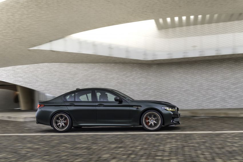 BMW M5 CS – 635 hp/750 Nm, 0-100 km/h in three seconds; more carbon, less weight, four bucket seats Image #1259131