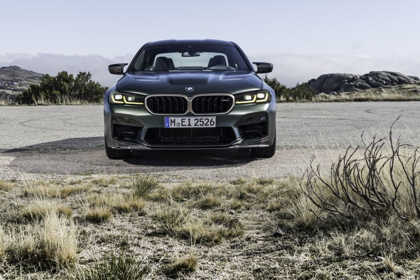 BMW M5 CS – 635 hp/750 Nm, 0-100 km/h in three seconds; more carbon, less weight, four bucket seats Image #1259134
