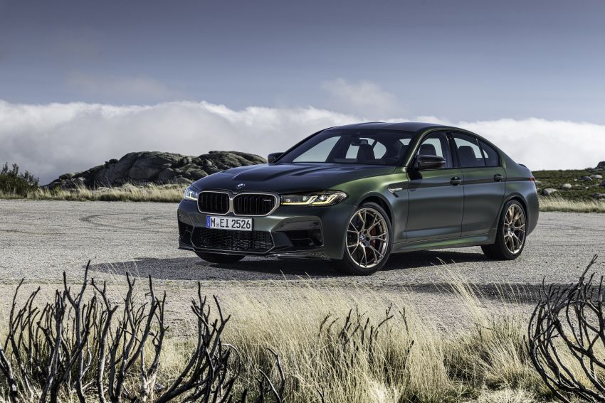 BMW M5 CS – 635 hp/750 Nm, 0-100 km/h in three seconds; more carbon, less weight, four bucket seats Image #1259136