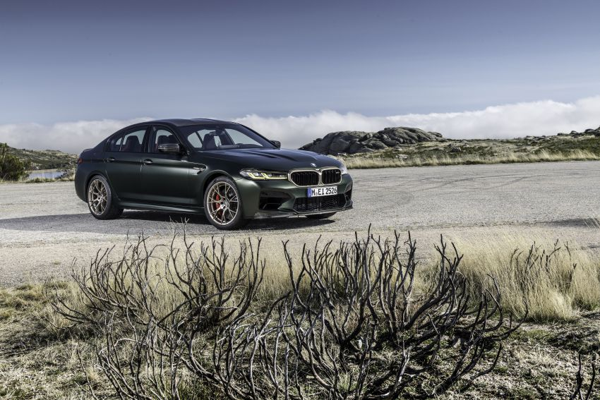 BMW M5 CS – 635 hp/750 Nm, 0-100 km/h in three seconds; more carbon, less weight, four bucket seats Image #1259137