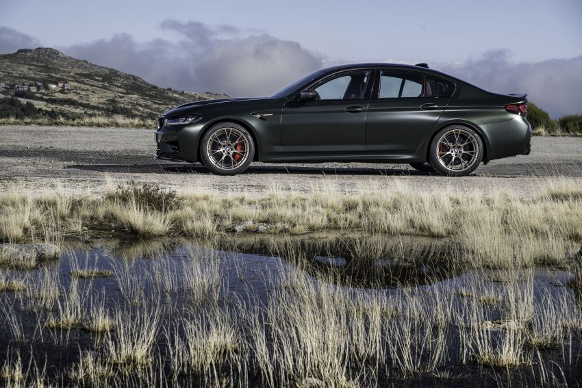 BMW M5 CS – 635 hp/750 Nm, 0-100 km/h in three seconds; more carbon, less weight, four bucket seats Image #1259138