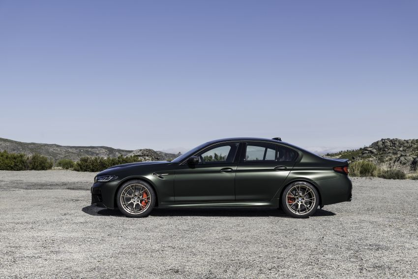 BMW M5 CS – 635 hp/750 Nm, 0-100 km/h in three seconds; more carbon, less weight, four bucket seats Image #1259140