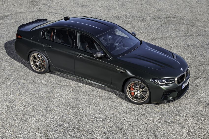 BMW M5 CS – 635 hp/750 Nm, 0-100 km/h in three seconds; more carbon, less weight, four bucket seats Image #1259142