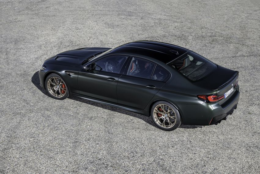 BMW M5 CS – 635 hp/750 Nm, 0-100 km/h in three seconds; more carbon, less weight, four bucket seats Image #1259143