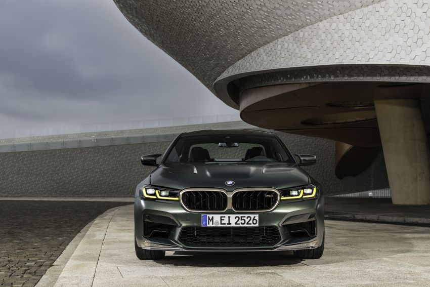 BMW M5 CS – 635 hp/750 Nm, 0-100 km/h in three seconds; more carbon, less weight, four bucket seats Image #1259145
