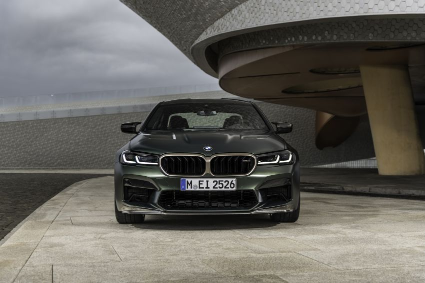 BMW M5 CS – 635 hp/750 Nm, 0-100 km/h in three seconds; more carbon, less weight, four bucket seats Image #1259146