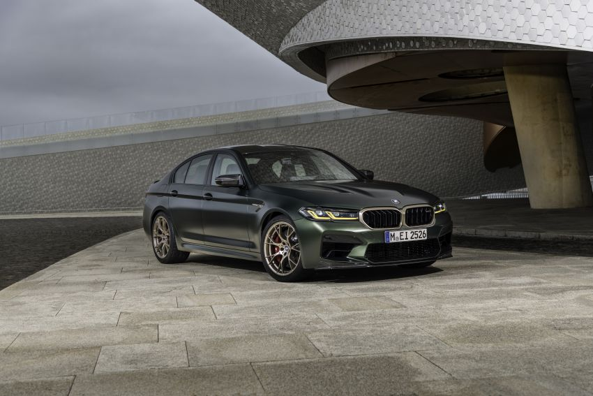 BMW M5 CS – 635 hp/750 Nm, 0-100 km/h in three seconds; more carbon, less weight, four bucket seats Image #1259147