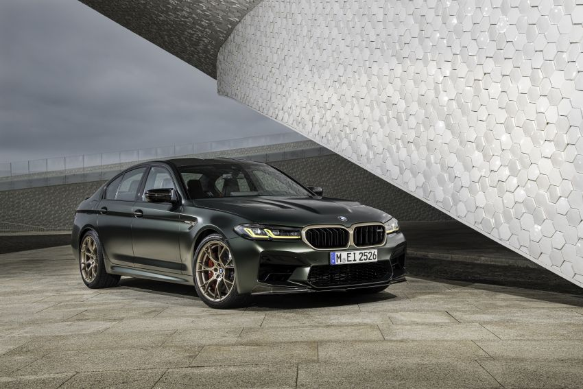 BMW M5 CS – 635 hp/750 Nm, 0-100 km/h in three seconds; more carbon, less weight, four bucket seats Image #1259148