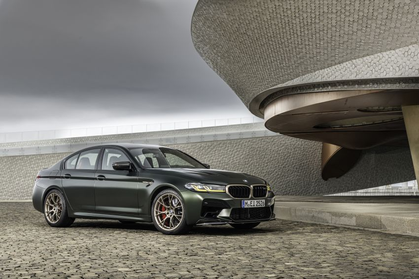 BMW M5 CS – 635 hp/750 Nm, 0-100 km/h in three seconds; more carbon, less weight, four bucket seats Image #1259149