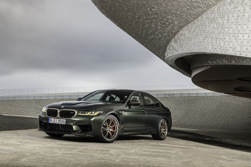 BMW M5 CS – 635 hp/750 Nm, 0-100 km/h in three seconds; more carbon, less weight, four bucket seats Image #1259150