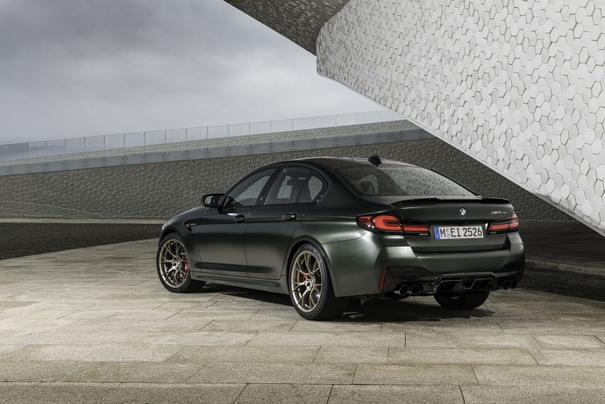 BMW M5 CS – 635 hp/750 Nm, 0-100 km/h in three seconds; more carbon, less weight, four bucket seats Image #1259151