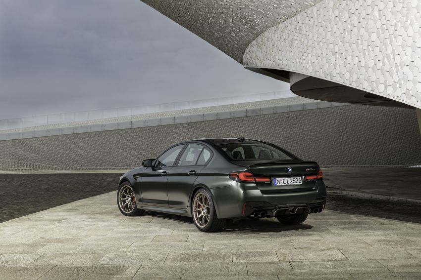 BMW M5 CS – 635 hp/750 Nm, 0-100 km/h in three seconds; more carbon, less weight, four bucket seats Image #1259152