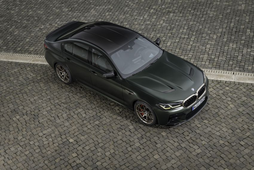 BMW M5 CS – 635 hp/750 Nm, 0-100 km/h in three seconds; more carbon, less weight, four bucket seats Image #1259156