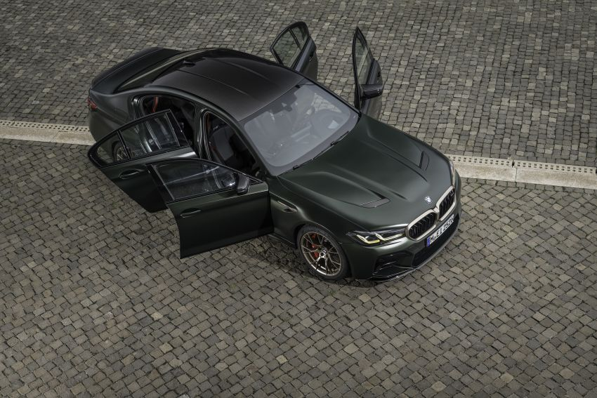 BMW M5 CS – 635 hp/750 Nm, 0-100 km/h in three seconds; more carbon, less weight, four bucket seats Image #1259157